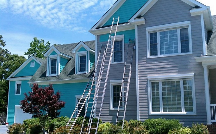 What to do when you Paint Your House in the rain?