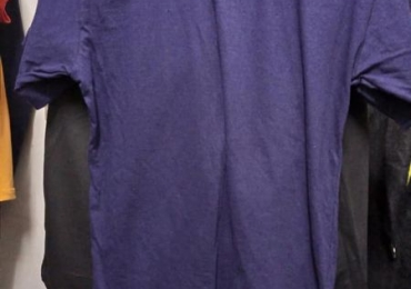Plain round and v-neck t. shirts For Sale